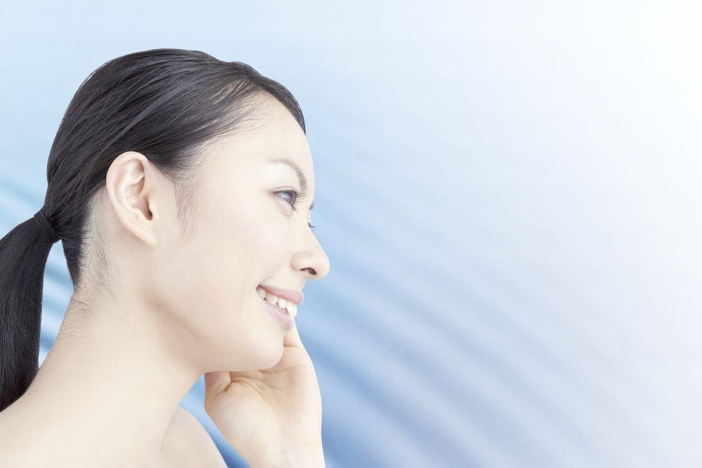 鼻翼基部プロテーゼのアフターケア