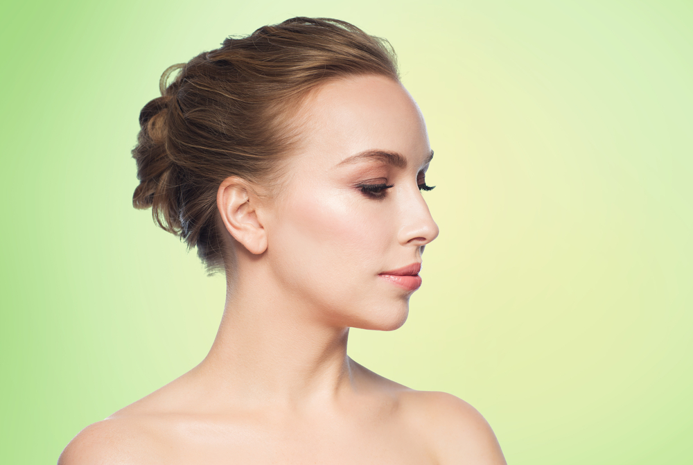 鼻先を高くする整形の症例写真