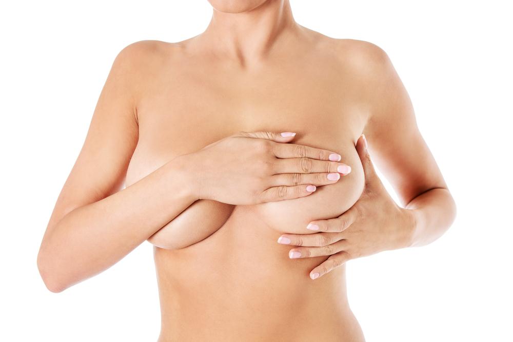 大胸筋下法(豊胸バッグ)の修正